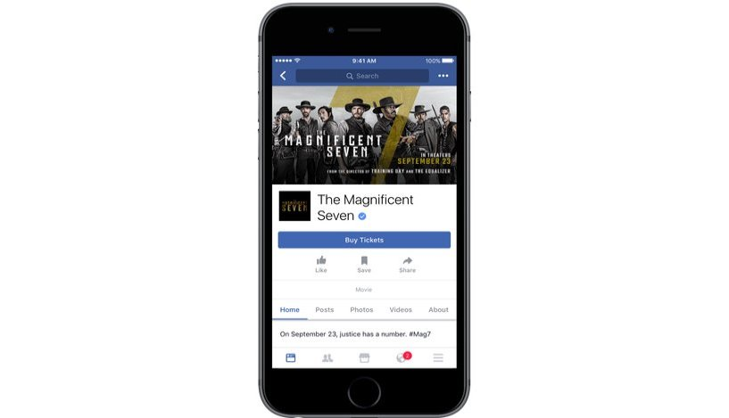 Get Movie Or Other Event Tickets From Facebook