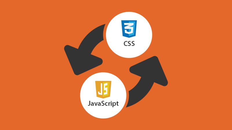 Replace CSS with JavaScript