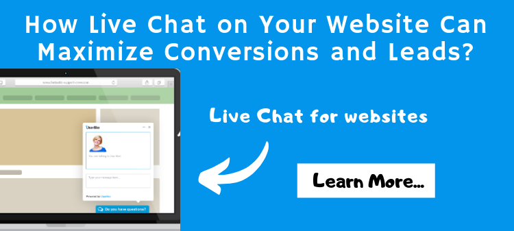 How Live Chat on Your Website Can Maximize Conversions and Leads?