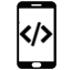 Mobile applications for websites